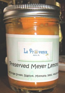 Preserved Lemons from LaProvence
