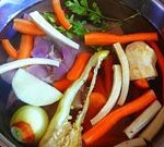 Root Veggies in a Stock Pot
