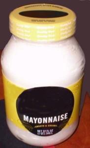Mayonnaise Jar