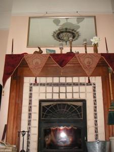 Cat's Dovre Fireplace