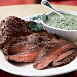 Flank Steak (with Horseradish Sauce)