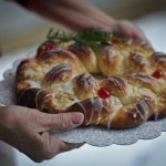 Danish Pastry Wreath