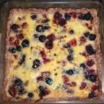 Mixed Berry Kuchen