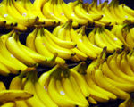 Bananas at market