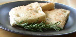 Focaccia and Rosemary