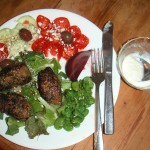 Cat's Lamb Kafta Salad
