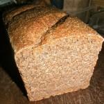 Loaf after slicing
