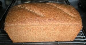 Baked loaf, cooling