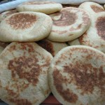 Batbout (Moroccan leavened & Baked Flatbread)