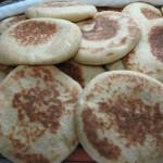 Batbout (Moroccan leavened & Baked Flatbread)