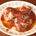 Cabbage Rolls with Tomato Sauce