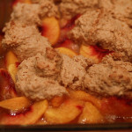 Peach Cobbler (with Biscuit Topping)