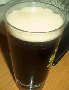 Glass of Root Beer, with Foam