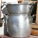 Couscoussier (traditional couscous steamer)