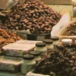 Dates at market in Kuwait