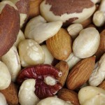 Trader Joe's mixed nuts (cashews, almonds, filberts, Brazil nuts, and pecans)