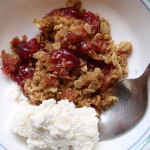 Apple, Pear & Cranberry Crisp