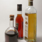 Aceto balsamico, red and white wine vinegar